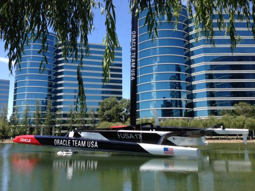 Boat Successfully Arrived at Oracle HQ