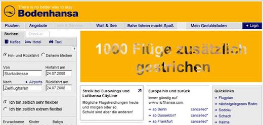 Bodenhansa - Lufthansa