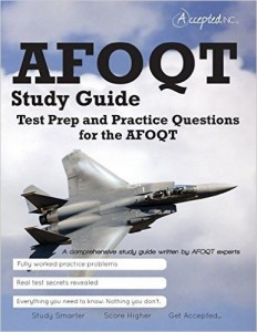 AFOQT Study Guide Test Prep and Practice Questions
