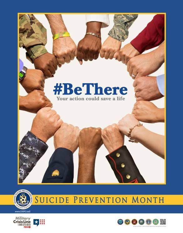 Tuskegee Airman and Suicide Prevention Month