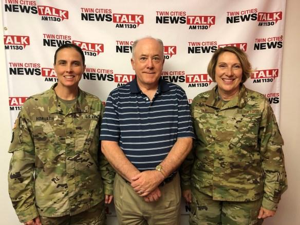 MNNG Women's Leadership Forum Minnesota Military Radio podcast