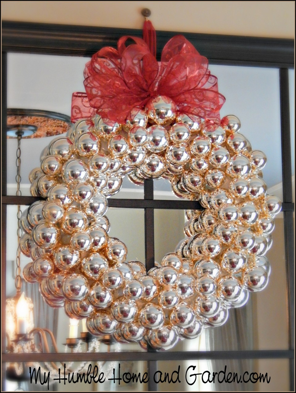 Make This: Christmas Ornament Wreath