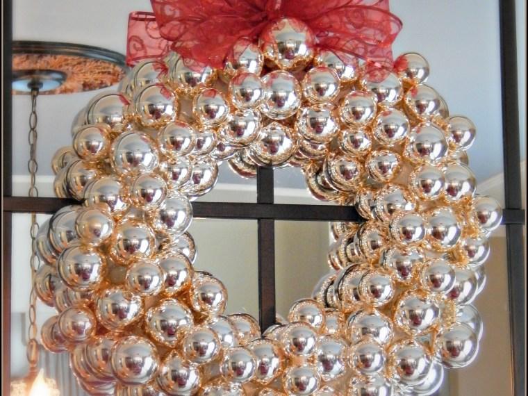 Make This: Christmas Ornament Wreath