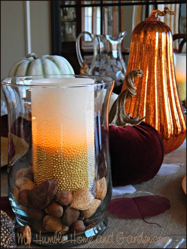 Last Minute Thanksgiving Decorations on MyHumbleHomeandGarden.com