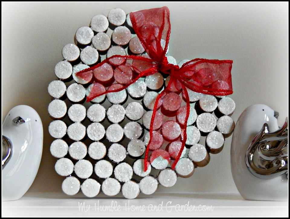 How To Make A Valentine Heart From Wine Corks