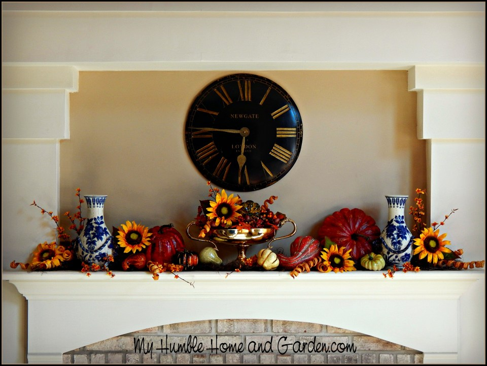 How To Create A Beautiful Autumnal Mantel Display