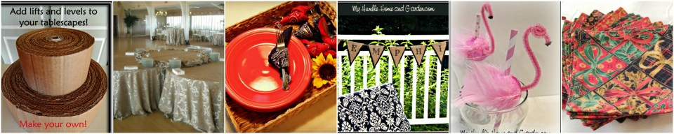 Entertaining Inspirations on MyHumbleHomeandGarden.com