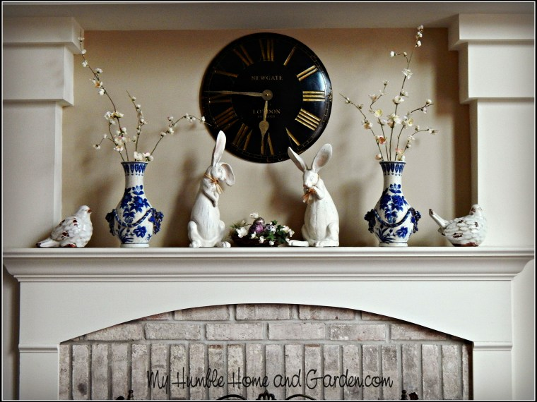 Spring Mantel Ideas – Simple and Understated