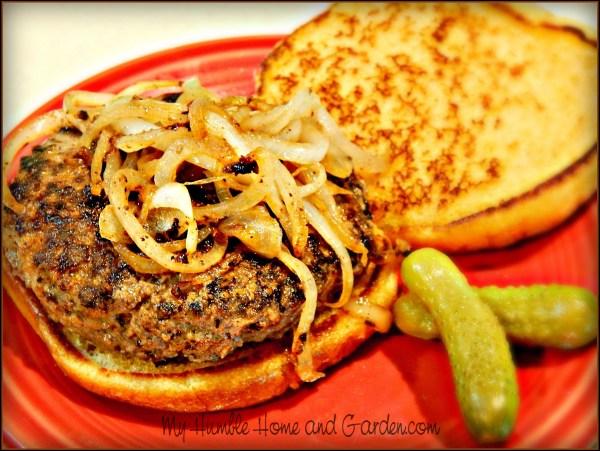 Best Burger Ever on MyHumbleHomeandGarden.com