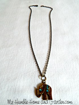 Easy DIY Necklace Ideas on MyHumbleHomeandGarden.com