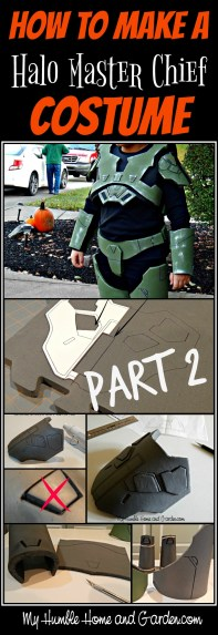 Part 2 of How To Make A Halo Master Chief Costume on MyHumbleHomeandGarden.com