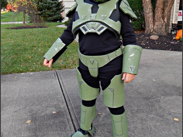 How To Make A Halo Master Chief Costume – Part 3