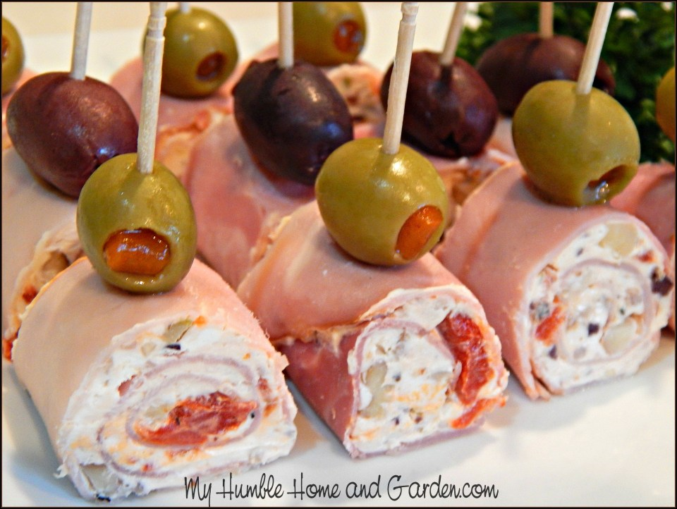 Knife Skills and Red-Pepper Ham Roll-Ups on MyHumbleHomeandGarden.com
