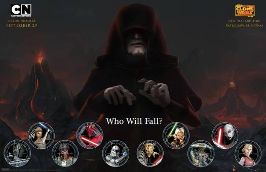 Who Will Fall The Clone Wars