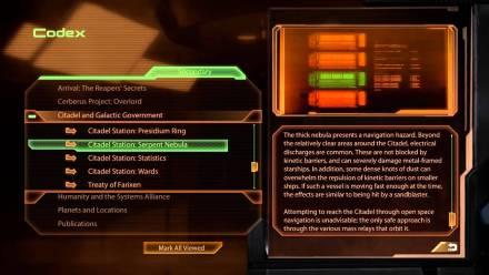 Mass Effect Codex