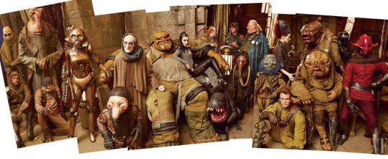 Denizens of Maz Kanata's castle