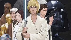 Star Wars LINE Webtoon Comic