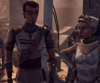 Saw and Steela Gerrera