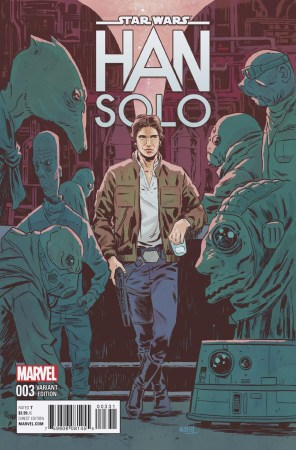 Han Solo 3 Full Variant Cover