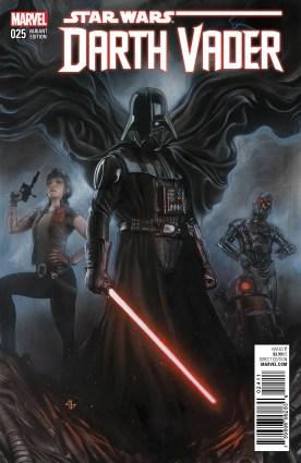 Darth Vader 25 variant cover