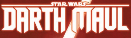 Darth Maul Comic Series Logo