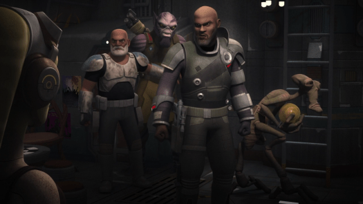 Star Wars Rebels Ghosts of Geonosis