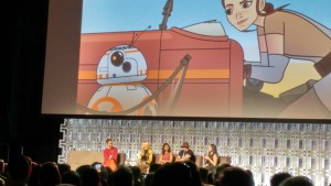 Heroines of Star Wars Panel 6 Rey and Rey