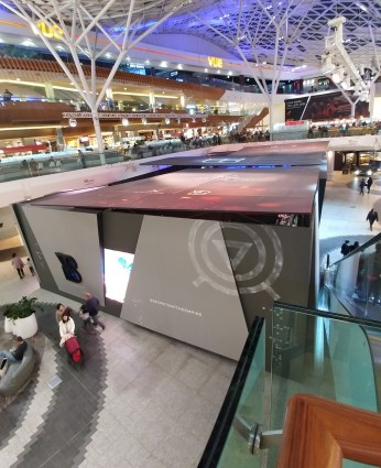 Secrets of the Empire From Above at Westfield, London