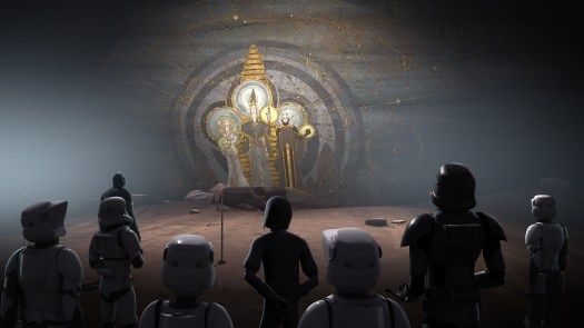 Star Wars Rebels Wolves and a Door Mortis Mural