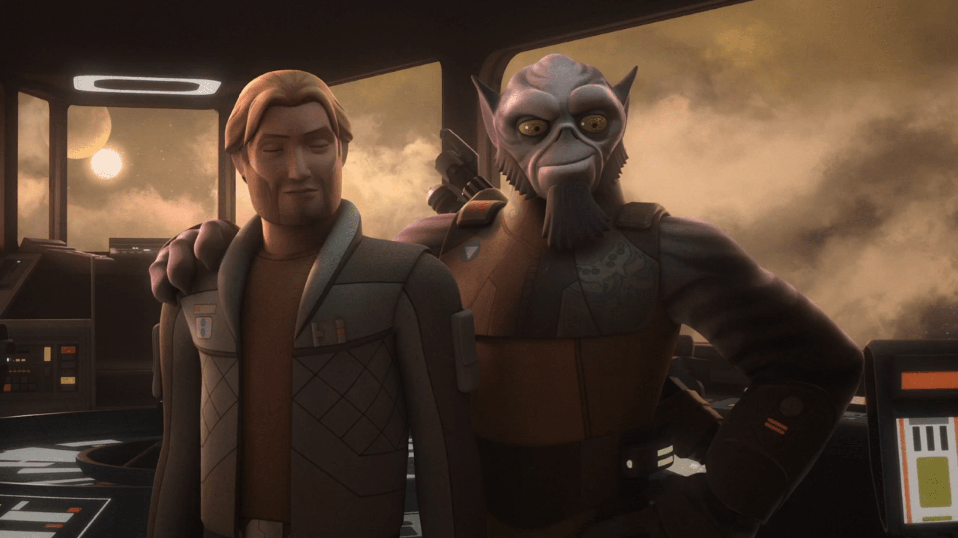 Star Wars Rebels Series Finale Review A Fools Hope Amp Family Reunion And Farewell