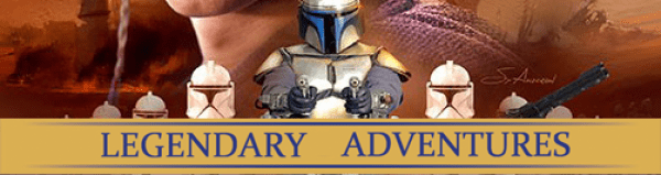 Legendary Adventures Milestone Attack of the Clones