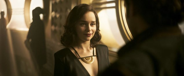 Qi'ra With a Killer Smile