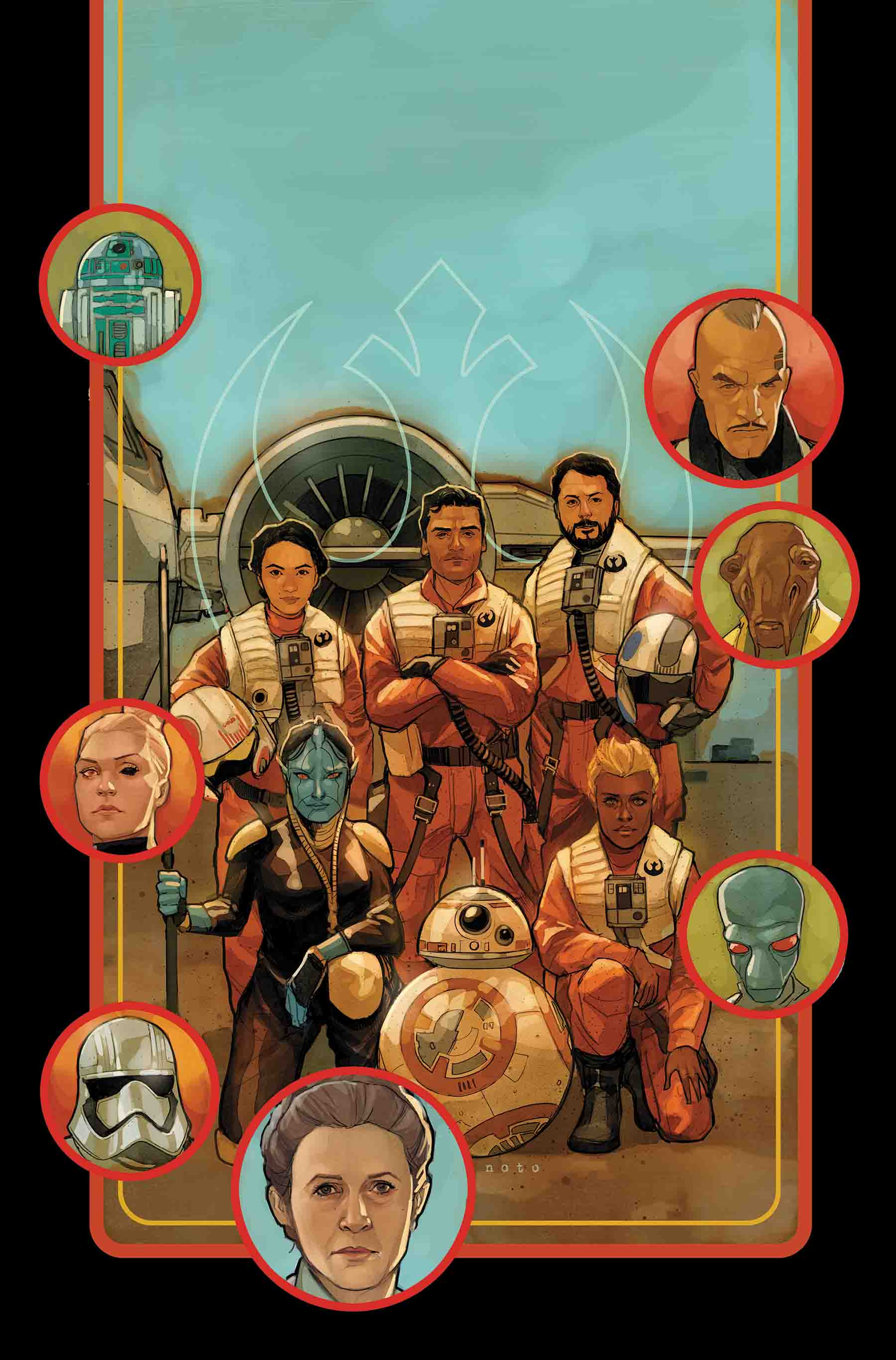 Star Wars Destiny #29 Poe Dameron Awakening Legendary
