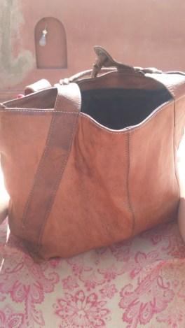 The offending camel bag I have yet to use.