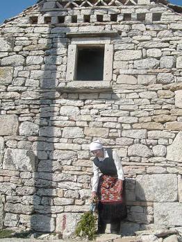 Dalmatinska kamena kuća