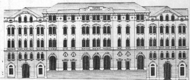 Požar i izgradnja novog Splitskog kazališta