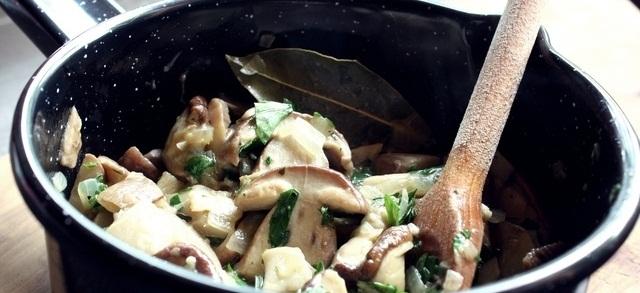 Tradicionalna priprema gljiva
