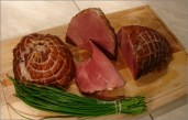 Tradicionalna Slavonska prehrana i jela - dimljena šunka