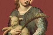 Život i blagdan Svete Agneze, Janje  (21. Sječnja)