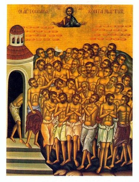 Blagdan 40 mučenika