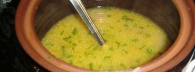 Domaća legirana teleća juha