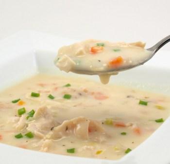 Pileća juha s vrhnjem