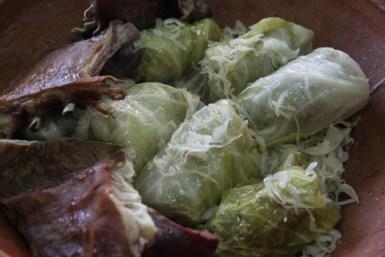 Kuhanje Sinjskih arambašića s suhim mesom
