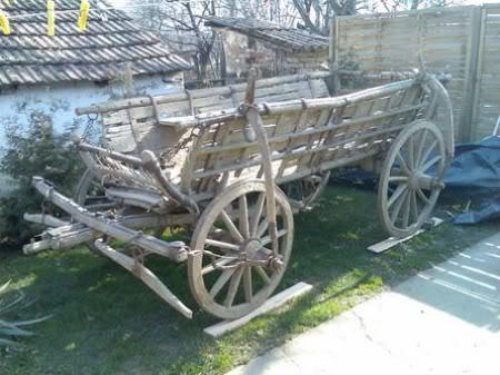 Izrada seljačkih kola i zaprega