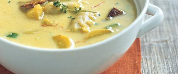 Jednostavna juha od bakalara