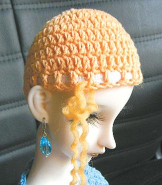 모자 - Rapunzel Hair.