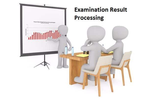 Examination Result Processing