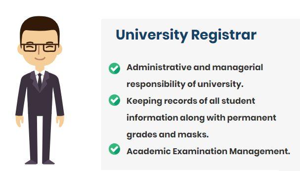 University Registrar for Academic Result Management
