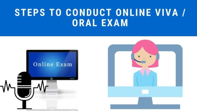 Steps to conduct oral exam or viva exam