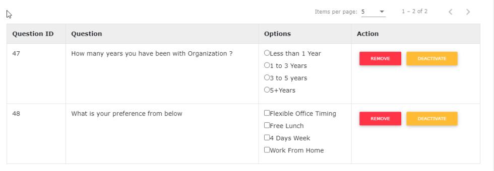 Survey Sample Questions